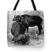 African Buffalo Tote Bag