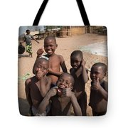 Africa's Children Tote Bag