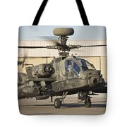 Ah-64d Apache Longbow Taxiing Tote Bag