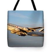 Air France A 380 Tote Bag