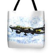 Air New Zealand Hobbit Boeing 777 Art Tote Bag