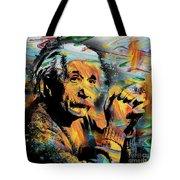 Albert Einstein.. - By Prar Tote Bag