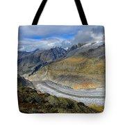 Aletsch Glacier, Switzerland Tote Bag