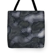 Alien Fluid Metal Tote Bag