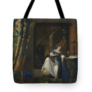 Allegory Of The Catholic Faith Tote Bag