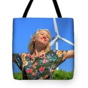 Alternative Energy Concept Tote Bag