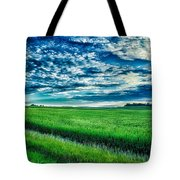 An Iowa Sunset Tote Bag