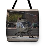An Oh-58 Kiowa Helicopter Of The U.s Tote Bag