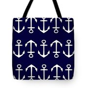 Anchor Tote Bag by Chastity Hoff