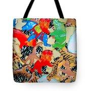 Animal Cookies Tote Bag
