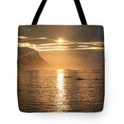 Antarctic Sunset Tote Bag