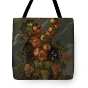 Anthropomorphic Allegory Of Autumn Tote Bag