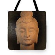 antique oil effect Buddha Gandhara.. Tote Bag