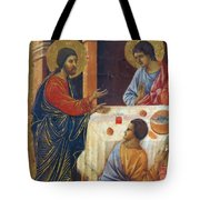 Appearance Of Christ To The Apostles Fragment 1311  Tote Bag
