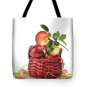 Apples In A Basket  Tote Bag