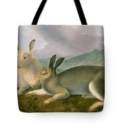 Arctic Hare Tote Bag