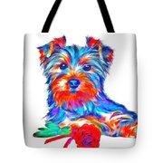 Art Dogportrait Tote Bag