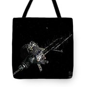 Asteroid Mining Outpost Tote Bag