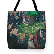 At The Roulette Table In Monte Carlo Tote Bag