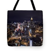 Atlanta Georgia - Evening Commute Tote Bag