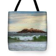 Atlantic Waves Tote Bag