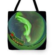 Aurora Borealis Over Churchill Tote Bag