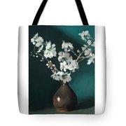 Australian Almond Blossom Tote Bag