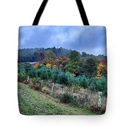Autumn Colors In The Blue Ridge Mountains Tote Bag
