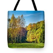 Autumn Colors Of Nature Tote Bag