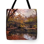 Autumn's Ending Tote Bag