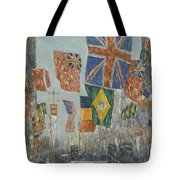 Avenue Of The Allies Tote Bag