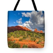 Az-sedona-schnebly Hill Rd-huckaby Trail Tote Bag