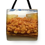 Baked Beans On Toast Tote Bag