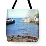 Ballintoy Harbour Tote Bag