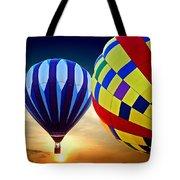 2 Balloons Tote Bag