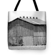 Barn In Kentucky No 71 Tote Bag