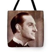 Basil Rathbone, Actor Tote Bag
