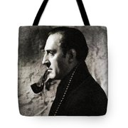 Basil Rathbone As Sherlock Holmes Tote Bag