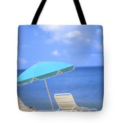 Beach Chairs Tote Bag