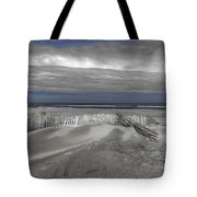 Beach Fence Tote Bag