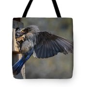 Beak To Beak Tote Bag
