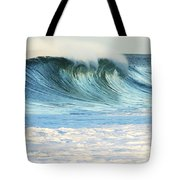 Beautiful Wave Breaking Tote Bag by Vince Cavataio - Printscapes