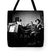 Beck And Philip Glass Photographed By Anna Webber, September 23rd, Tote Bag