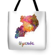 New Hampshire Us State In Watercolor Text Cut Out Tote Bag