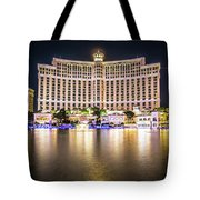 Bellagio Hotel On Nov, 2017 In Las Vegas, Nevada,usa. Bellagio I Tote Bag