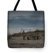 2 Benches Tote Bag