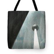 Berlin Tv Tower Tote Bag by Falko Follert