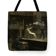 Between Rounds Tote Bag