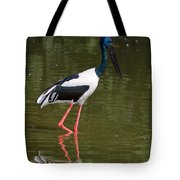 Black-necked Stork Tote Bag
