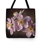 Blackberry Flowers Tote Bag